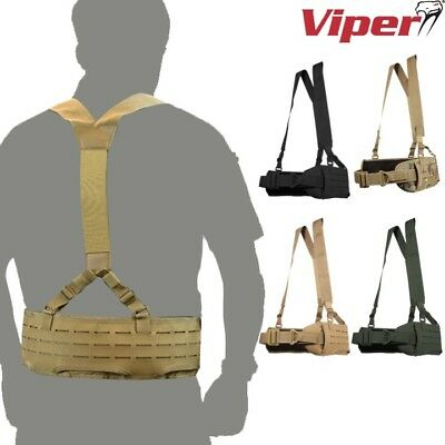 Viper Technical Harness Set Army Padded Webbing Belt Mtp Paintballing Airsoft