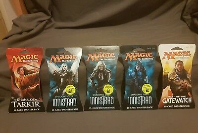 Magic The Gathering 15 card Booster Pack Bundle bnib Aus Seller