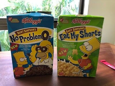Simpson's Cereal  Boxes