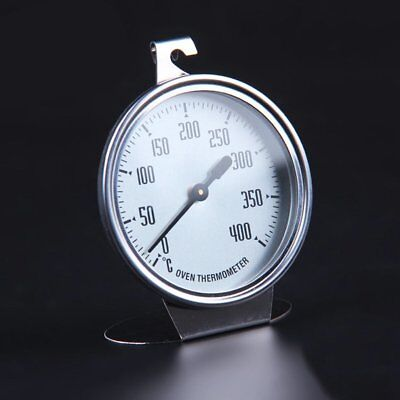 Stainless Steel Oven Thermometer Kitchen Thermometer Bakeware Baking Utensil OU