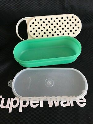 Tupperware Retro Vintage Grate N Stor Container with Grater