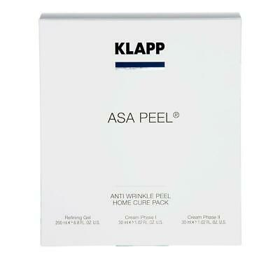 KLAPP ASA Peel® - ANTI WRINKLE PEEL - Home Cure Pack 1 Set