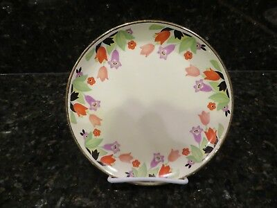 Hall Crocus Gold Rim Salad Plate