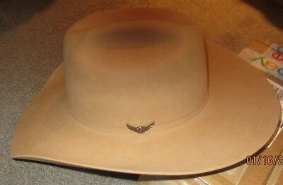 """""""New"""" Bailey """"Buddy"""" 8X Beaver Relentless Cowboy Hat 7 3/8 or 7 1/2 or 7 5/8 USA"""