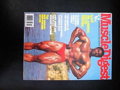 Vintage Muscle Digest bodybuilding magazine October 1979 good condition