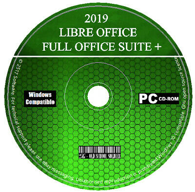 Pro 2019 Libre Office Suite Word Processor Spreadsheets Database For Windows MAC