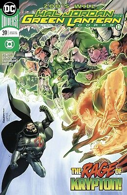 Hal Jordan And The Green Lantern Corps #39 Dc Universe - Release Date 28/02/2018
