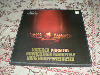 WAGNER  PARSIFAL Bayreuther Festspiele     LP-Box Philips