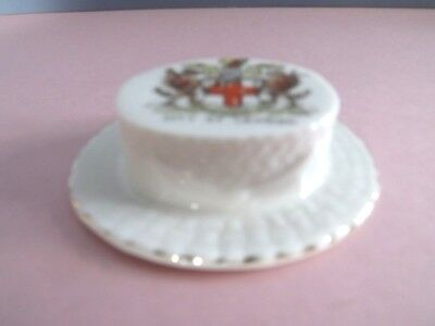 Gemma Crested China Hat  - City of London Crest (74,281)