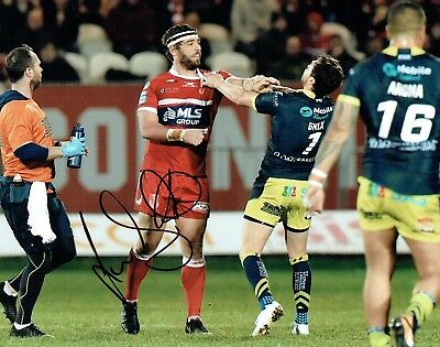 Lee JEWITT Rugby League Hull KR 2018 Signed Autograph 10x8 Photo AFTAL COA