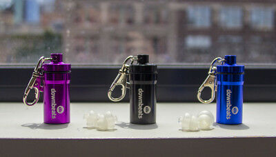 DownBeats High Fidelity Hearing Protectors - Reusable Ear Plugs for Concerts