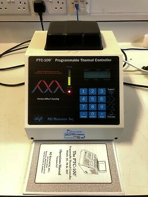 MJ Research PTC 100 Thermal Cycler PCR Machine (60 Well) + optional heated lid