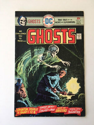 DC Comics Ghosts Vol5 #41 August 1975 National Periodical Publications Horror VF