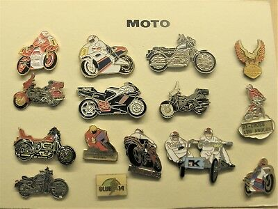 Pins  Moto   15 Pins Differents