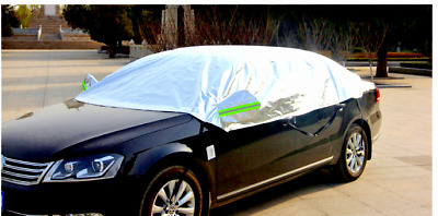 Half Size Waterproof Car Cover Top Winter Summer Anti Snow bird drop C04