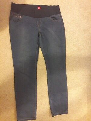 new look size 16 maternity jeans