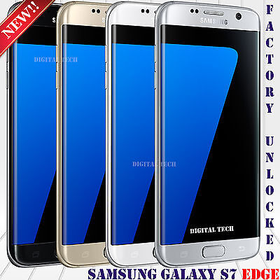 "Samsung Galaxy S7 EDGE G935V GSM & CDMA Unlocked (32GB) 5.5"" HD 12MP Refurbished"