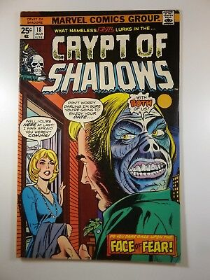 "Crypt of Shadows #18 ""Face of Fear!"" Sharp Fine+ Condition!!"