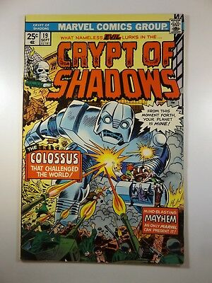"Crypt of Shadows #19 ""I Fought The Colossus!"" Beautiful VF Condition!!"