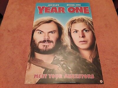 Year One UK Movie Promo Poster. Manufactured in Support of the DVD Release. Cera