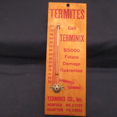 Terminix Pest Control Advertising Wall Thermometer