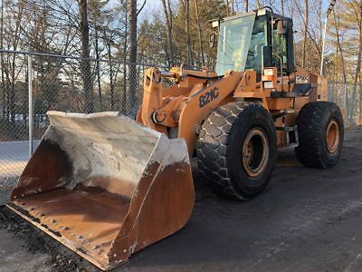 2005 Case 821C Front End Wheel Pay Loader Material Gp Bucket 4 Yard