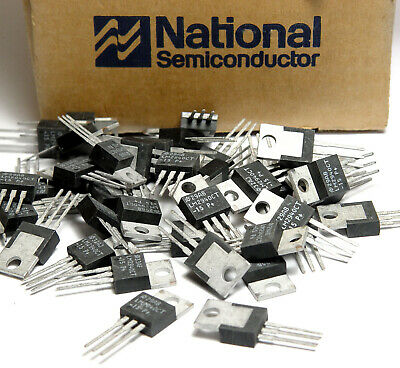 10x LM2940 CT-15 Low Drop Spannungsregler, 15V/1A, National Semiconductor, NOS