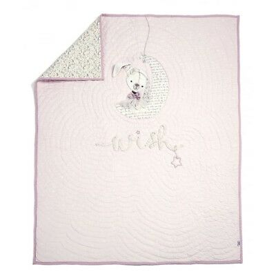 Mamas And Papas Millie And Boris Girls Pink Coverlet