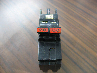 Federal Pacific NC220 Circuit Breaker (20 Amp, 2 Pole, 120/240 Volt)