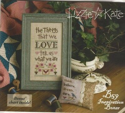 Fabric /& Charm // Retired Design A LITTLE WEDDING  K79 Chart Lizzie Kate