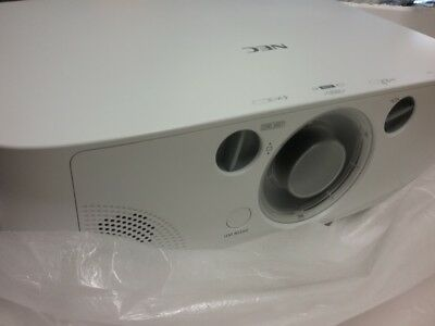 NEC NP-PA550W Projector B Stock With NP12ZL Short Zoom Lens