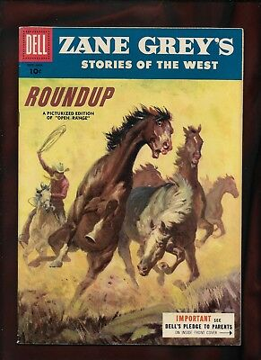 Dell Zane Grey's Stories Of The West, Golden Age #27_VF+_(8.5)_Cents Copy