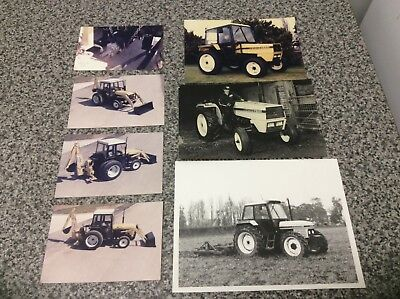 Marshall Tractor Original Dealers Photographs. Rare Items, Leyland, Nuffield.