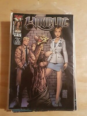 Witchblade Vol 1 Issue 44  January  2001 Magazine