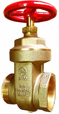 "2-1/2"" HYDRANT GATE VALVE - Female NPT x  Male NST UL/FM"