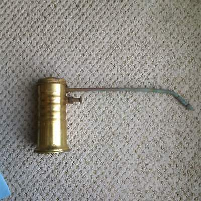 Vintage Eagle Super Pump Oiler # 66 Oil Can Brass Working Hand Pump Made in US