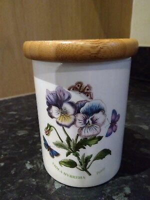 Portmeirion Lidded Storage Jar in the Botanic Garden collection by Susan William