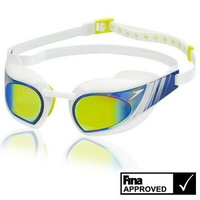 Speedo Fastskin3 Super Elite Swimming Goggles Anti Fog HD Lens RRP £45 NEW