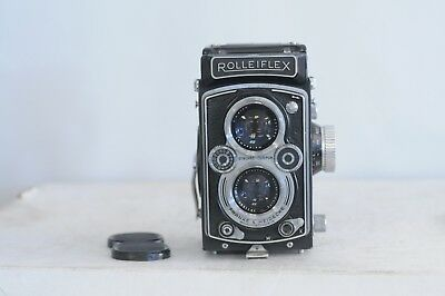 Rolleiflex 3.5 MX EVS Automat ( K4B ) Xenar Type 1 with Cap & Split Image Screen