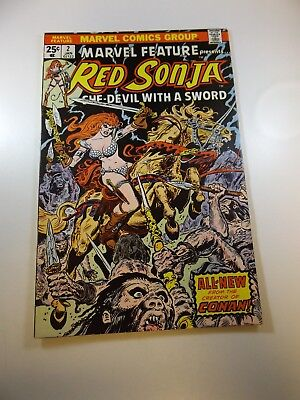 Marvel Feature #2 2nd series w/ Red Sonja FN/VF condition
