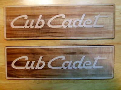 IH Cub Cadet Collector Wood Sign - 1641 1861 1862 Lawn Mower Tractor Dealer