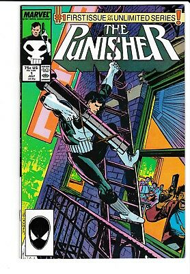 The Punisher #1 July 1987 Marvel Comics VF Ongoing Series Klaus Janson