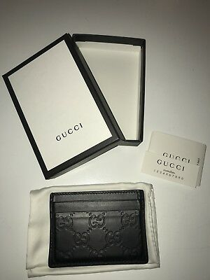 Gucci Leather Card Case