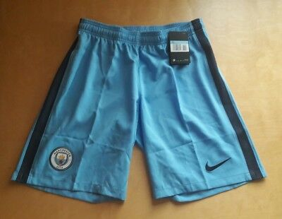 Nike Manchester City Home Shorts. New. BNWT. Large. Blue.