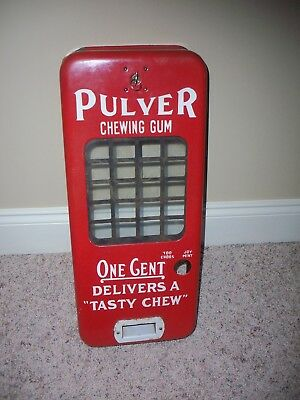 Pulver short case ORIGINAL case with lock and key and window grid