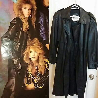 Stryper - Timothy Gaines - Leather Trench Coat - Signed