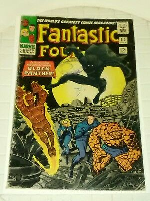 Fantastic Four-Black panther introduced