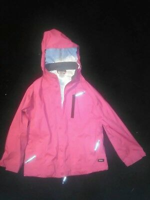 REI Childs Pink Rain Jacket Sz xs 6-7