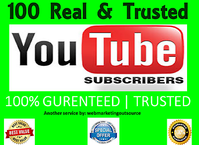 YouTube/Subscribes 100   24 HOUR DELIVERY   SAFE   SECURE   HIGH QUALITY