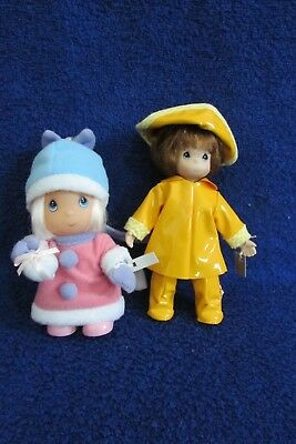 Two Precious Moments Dolls